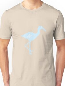 Blue Flamingo! Unisex T-Shirt