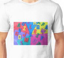 Random Letters Unisex T-Shirt