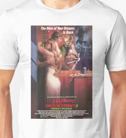 A Nightmare On Elm Street Part 2 (Freddy's Revenge) - Original Poster 1985 Unisex T-Shirt