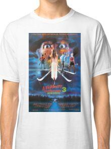 A Nightmare on Elm Street Part 3 (Dream Warriors) - Original Poster 1987 Classic T-Shirt