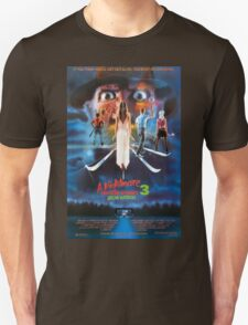 A Nightmare on Elm Street Part 3 (Dream Warriors) - Original Poster 1987 Unisex T-Shirt
