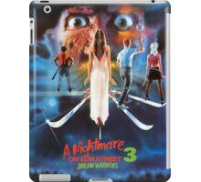 A Nightmare on Elm Street Part 3 (Dream Warriors) - Original Poster 1987 iPad Case/Skin