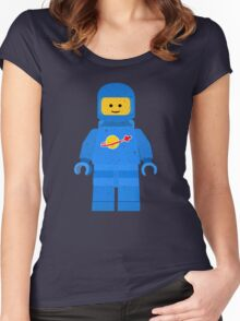 Lego Space Minifigure Women's Fitted Scoop T-Shirt