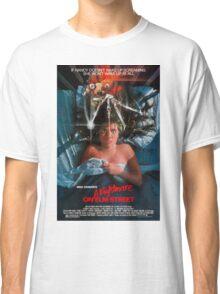 A Nightmare On Elm Street - Original Poster 1984 Classic T-Shirt