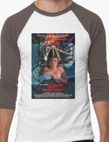 A Nightmare On Elm Street - Original Poster 1984 Men's Baseball ¾ T-Shirt
