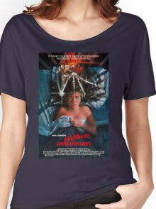 A Nightmare On Elm Street - Original Poster 1984 Women's Relaxed Fit T-Shirt