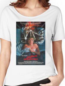 A Nightmare On Elm Street - Original Poster 1984 Women's Relaxed Fit T-Shirt