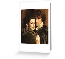 Claire and Jamie Greeting Card