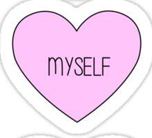 Me, Myself, and I Sticker