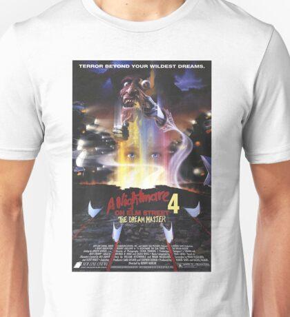 A Nightmare on Elm Street Part 4 (The Dream Master) - Original Poster 1988 Unisex T-Shirt
