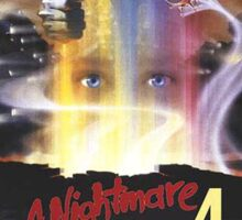 A Nightmare on Elm Street Part 4 (The Dream Master) - Original Poster 1988 Sticker