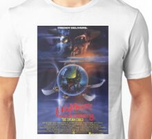 A Nightmare on Elm Street Part 5 (The Dream Child) - Original Poster 1989 Unisex T-Shirt