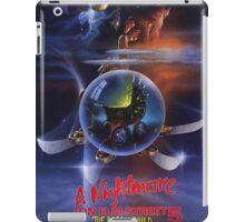 A Nightmare on Elm Street Part 5 (The Dream Child) - Original Poster 1989 iPad Case/Skin