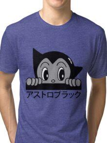 Astro! Black. Tri-blend T-Shirt