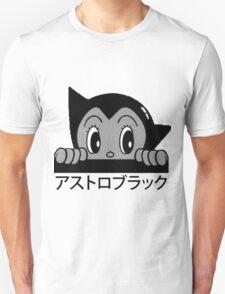 Astro! Black. Unisex T-Shirt