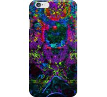 Psychedelic Rave Face.02 iPhone Case/Skin