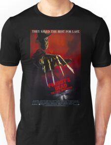 A Nightmare On Elm Street Part 6 (Freddy's Dead: The Final Nightmare) - Original Poster 1991 Unisex T-Shirt