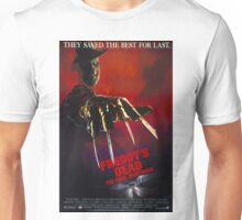 A Nightmare On Elm Street Part 6 (Freddy's Dead: The Final Nightmare) - Original Poster 1991 Unisex T-Shirt