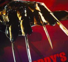 A Nightmare On Elm Street Part 6 (Freddy's Dead: The Final Nightmare) - Original Poster 1991 Sticker
