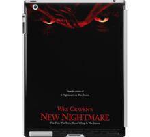 A Nightmare On Elm Street Part 7 (Wes Craven's New Nightmare) - Original Poster 1994 iPad Case/Skin
