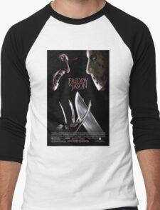 Freddy vs. Jason - Original Poster 2003 Men's Baseball ¾ T-Shirt