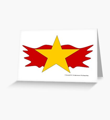 Wildfire, Legion of Superheroes Greeting Card