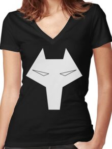 Timber Wolf, Legion of Superheroes Women's Fitted V-Neck T-Shirt