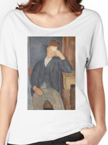 Amedeo Modigliani - The Young Apprentice 1918 - 1919 Women's Relaxed Fit T-Shirt
