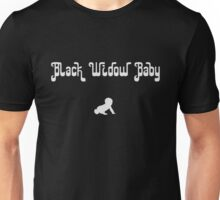 Black Widow Baby funny Unisex T-Shirt