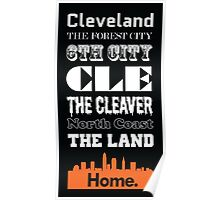 Cleveland Is My Home. Poster