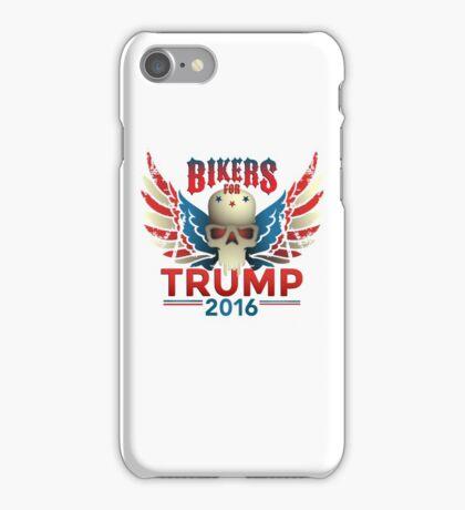 Bikers for Trump iPhone Case/Skin