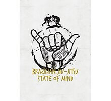 Jiu-Jitsu state of mind Photographic Print