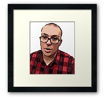 Anthony Fantano The Internet's Busiest Music Nerd Framed Print