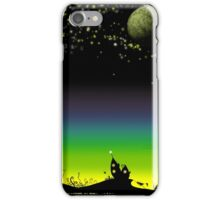 Sunset on a marvelous alien planet (the wide version) iPhone Case/Skin