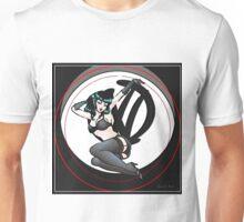 Graffiti Logo Retro Pin up girl Unisex T-Shirt