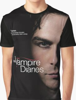 Damon Quotes The Vampire Diaries Graphic T-Shirt