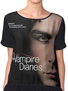 Damon Quotes The Vampire Diaries Chiffon Top