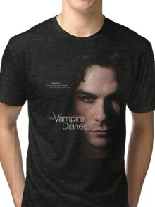 Damon Quotes The Vampire Diaries Tri-blend T-Shirt
