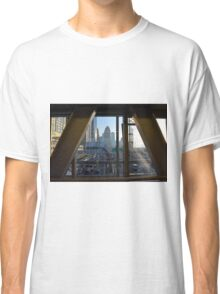 15 March 2016. Photography of street with skyscrapers from Dubai, United Arab Emirates. Classic T-Shirt