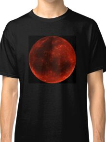 Blood Moon of Fire  Classic T-Shirt