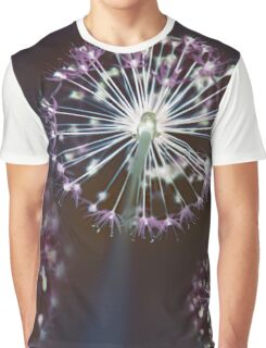 Floral Fireworks Graphic T-Shirt