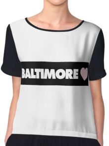 Baltimore Chiffon Top