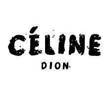 Celine dion Photographic Print
