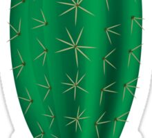Potted Green Cactus Sticker
