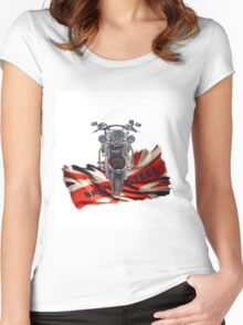 Triumph Thunderbird LT Red  Women's Fitted Scoop T-Shirt