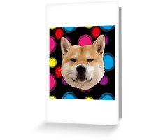 Hachiko Dog Greeting Card