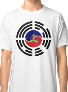 Korean Haitian Multinational Patriot Flag Series Classic T-Shirt