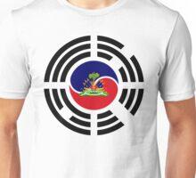Korean Haitian Multinational Patriot Flag Series Unisex T-Shirt