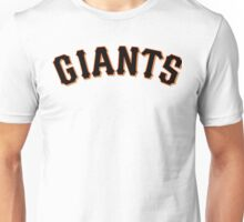 Manny Pacquiao Sf Giants Unisex T-Shirt