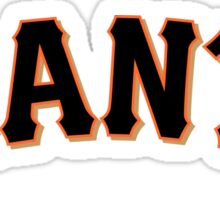 Manny Pacquiao Sf Giants Sticker